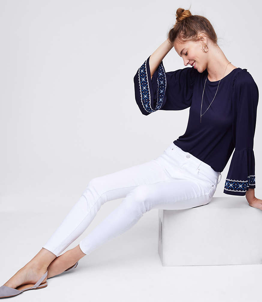White Jeans After Labor Day? Bring It.