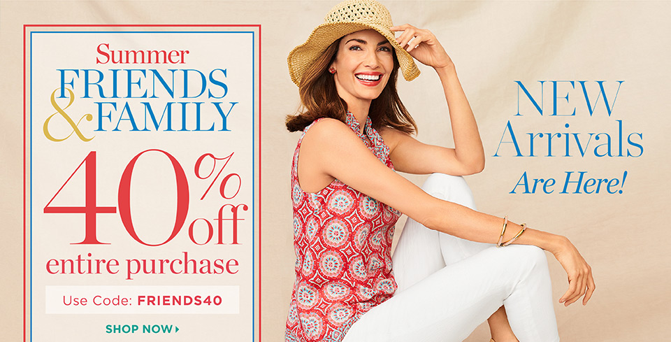 5 Things: My Talbots Summer Friends & Family sale picks