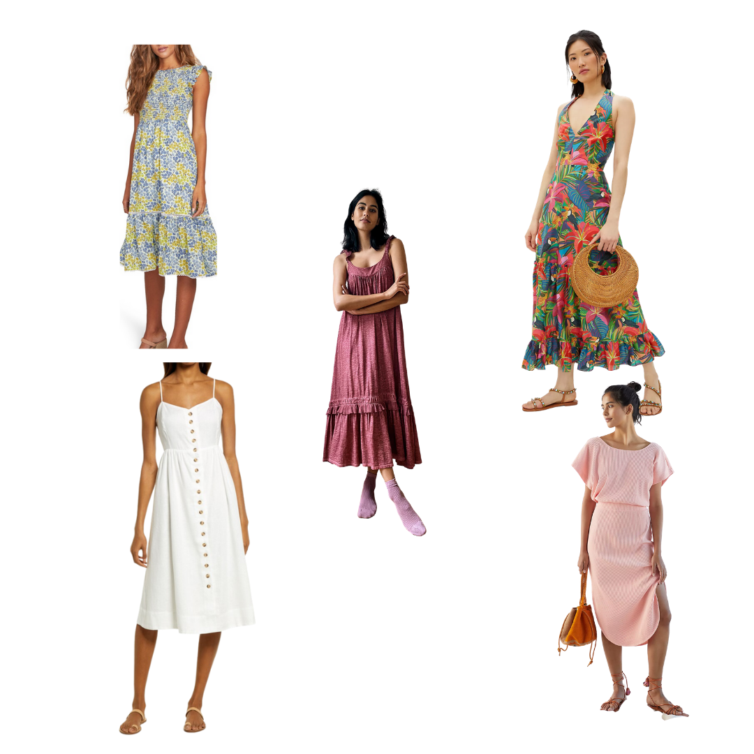 dress styles for spring 2021